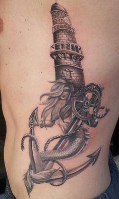 mermaid tattoo design - Cerca con Google