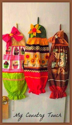 Colorfull bagholders