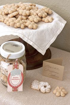 The Holidays Arent Without My Moms Famous Biscochos Also Known As Polvorones Or Mexican Wedding Cookies