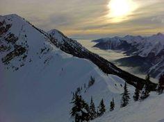 Skiing/boarding Kicking Horse Resort in Golden, British Columbia!