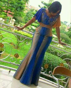 Beautiful Ankara Skirt and Blouse 2018 Dress and dress in loincloth African Fashion Ankara, African Fashion Designers, Latest African Fashion Dresses, African Dresses For Women, African Print Dresses, African Print Fashion, Africa Fashion, African Attire, African Women