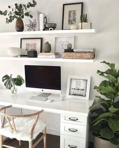 Office Space Decor, Home Office Design, Home Design, Interior Design, Design Ideas, Office Spaces, Apartment Office, Simple Interior, Design Room