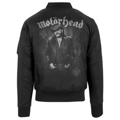 Forever T-Shirt Manches Courtes Noir Mot/örhead Lemmy