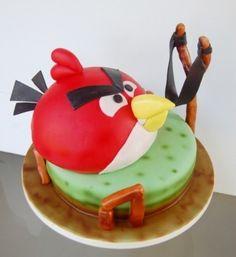 Торт angry birds заказать