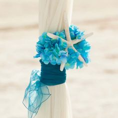 Turquoise accents on the arch