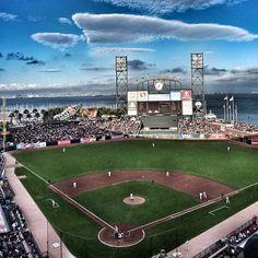San Francisco Giants #baseball Stadium AT Park #hdr