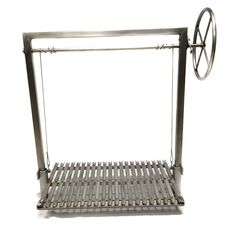 This is a Stainless Steel Argentine Grill Kit. Comes in 36X24 and 48X24, and can be accompanied by a side or a rear brasero to make embers in true Argentine style.