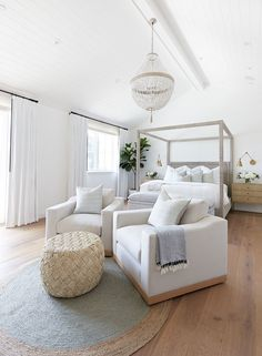 Master Bedroom Layout, Coastal Master Bedroom, Bedroom Layouts, Home Bedroom, Bedroom Decor, Large Bedroom Layout, Coastal Bedrooms, Bedroom With Couch, Bed Room