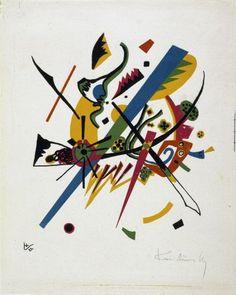 Wassily Kandinsky, Kleine Welten, 1922 Bauhaus Archive / Museum of Design, Berlin (258/1-2)