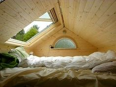 Master Bedroom With Opening Skylight