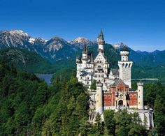 Bravaria Germany, The real Cinderella castle. : -)