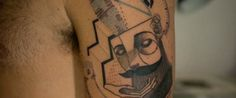 Tattoo Duo Transforms Skin Into Canvas With Incredibly Intricate Cubist Illustrations