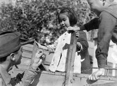 GI and Children - Tokyo 1945 by DebraEve, via Flickr