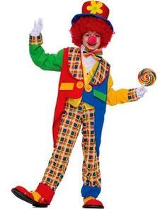 Childrens Clown Costume