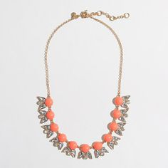 J.Crew Factory - Factory pointed petal necklace