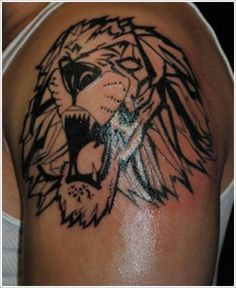Tribal tattoo art may be incorporated all told potential forms of tattoo styles. Here we present the list of Most Amazing Tribal Lion Tattoo Designs Lion Tribal, Tribal Lion Tattoo, Lion Tattoo Design, Tribal Sleeve Tattoos, Tattoo Sleeve Designs, Tattoo Designs For Women, Rose Tattoo On Hip, Style Tribal, Lion Tattoo Sleeves