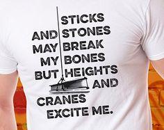 construction t shirt – Etsy