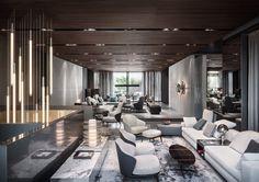 Milan furniture design news: Introducing New Minotti 2015 collection Showroom Interior Design, Top Interior Designers, Best Interior Design, Interior Design Inspiration, Interior Architecture, Milan Furniture, Luxury Furniture, Furniture Design, Furniture Showroom