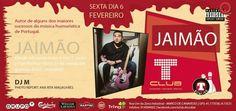 Criação de flyer - concerto do Jaimão.