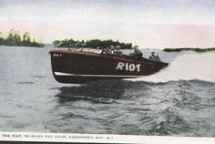 The Riot, 50 miles per hour, The Thousand Islands Alexandria Bay, Miles Per Hour, Thousand Islands, Boat, River, Dinghy, Boats, Rivers, Ship