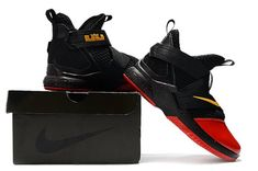 33f0bc69b34 Nike LeBron Soldier 12 Men s Basketball Shoes Black Red
