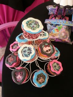 Cupcakes Monster High!!!!