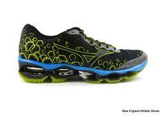 e973e32fe Mizuno men Wave Prophecy 3 running shoes - Dark Slate   Silver   Lime Punch