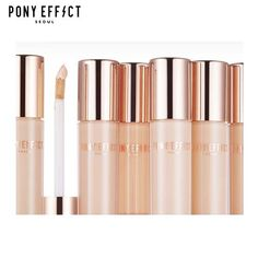 PONY EFFECT Pro Fit Liquid Concealer        How to Use Apply directly onto any blemishes, dark circles or other skin imperfections prior to makeup application. You can apply lotion or a moisturizer beforehand Blend out with pad of ring finger or bru