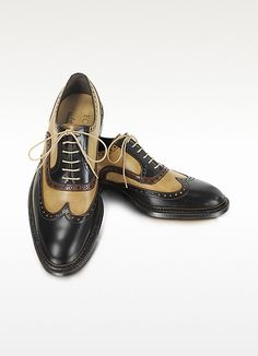 FORZIERI - Italian Handcrafted Two-tone Wingtip Oxford