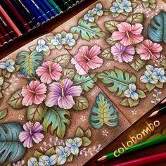 今回はヴィンテージ看板風ちょいロマンス寄りで(笑) #daiso癒しの塗り絵 #花の国 #daiso#daisojapan#100yenshop #colorpencil & white,red ink