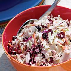 Cranberry Coleslaw  - Click for recipe and to add to Shopper
