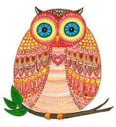 Choose your favorite owl paintings from millions of available designs. All owl paintings ship within 48 hours and include a money-back guarantee. Big Eyes Paintings, Owl Paintings, Karla Gerard, Whimsical Owl, Positive Art, Owl Pictures, Owl Always Love You, Owl Patterns, Wise Owl