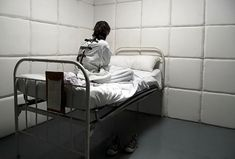 Padded Cell --- nothing more horrifying than being straited... - krys