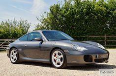 PORSCHE 911 MK 996 996 Carrera 4 S Coupe 2002 Petrol Manual in Grey   eBay