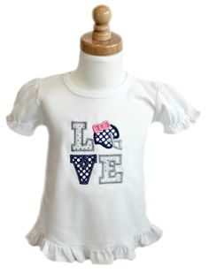 491dde755f1 LOVE Football spirit bodysuit or tee can be customized to match the team  colors of your choice. All That Sass Boutique · Baby Girls