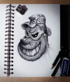 Amazing drawings by PEZ | From up North