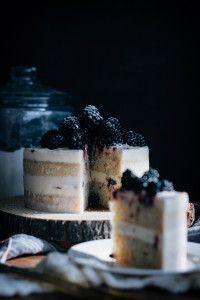 Blackberry Hazelnut Cake by Courtney of Fork to Belly