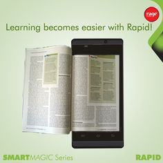 Learning becomes easier with Rapid!  #Rage_Mobiles #SmartMagic_Series  Explore Rapid: http://goo.gl/5JKwj2