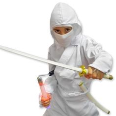 White Shadow Ninja Costume now available at http://www.karatemart.com