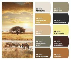 House Color Schemes, Colour Schemes, House Colors, Color Trends, Color Combos, Interior Paint Colors, Paint Colors For Home, Interior Design, Palette Design