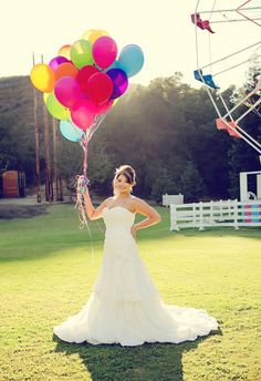 Carnival Weddings this would be a fun exciting wedding for all ages