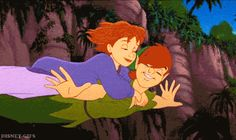 Peter Pan and Jane Gif - peter-pan-and-jane Fan Art