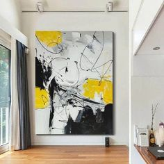 Large abstract wall art paintings for living room, hand painted canvas painting, acrylic abstract paintings, acrylic painting on canvas, bedroom wall art ideas, huge painting for sale, buy paintings online Textured Canvas Art, Large Abstract Wall Art, Large Painting, Large Canvas, Abstract Canvas, Black Painting, Canvas Artwork, Acrylic Artwork, Artwork Wall