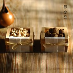 Setsubun (February 3 or 4) ; the day before the beginning of spring according to the lunisolar calendar.