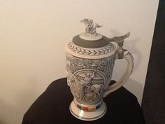Vintage Avon Kentucky Derby Winners Circle Stein by FELVERSFEVER, $19.99