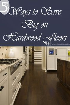 Hardwood Floors may be sooner in your future than you think. Come Learn 5 Ways to Save Big on Hardwood Floors! Photo Credit: Stonewood, LLC