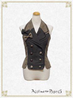 Alice and the Pirates Shellingford Ribbon Vest