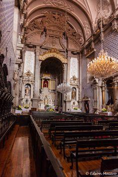 nave principal da Igreja da Misericórdia