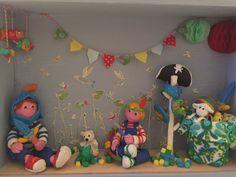 Mis micro mundos de plastilina, la habitación de Simón y Adrián 3