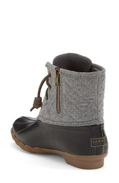 Saltwater' Duck Boot (Women) | Duck boots, Sperry boots and Sperry ...